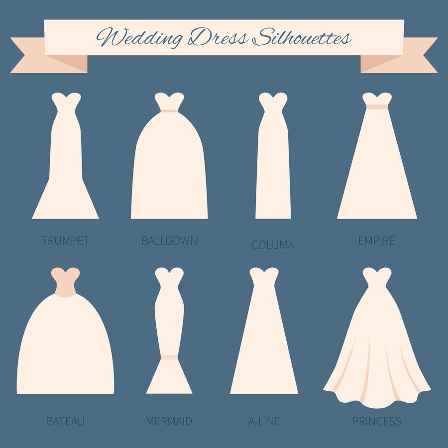 a line dresses look like