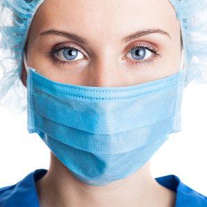 Masque De Protection Medicale Respiratoire Jetable