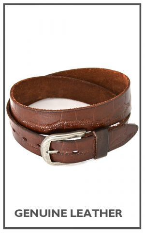 18 Genuine Leather Belt