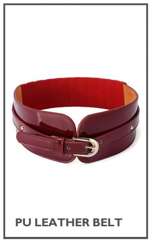18 PU Leather Belt